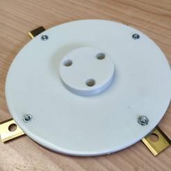 Download STL file Cutting Disc 180mm WORX LANDROID S • 3D print model, josephs