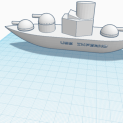 Download free 3D model USS inferno, kirchjax000