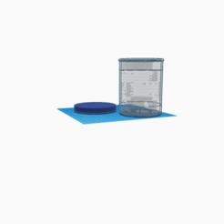 Transparent cup with lid.png Télécharger fichier STL gratuit Gobelet transparent avec couvercle • Plan à imprimer en 3D, kirchjax000