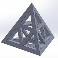 Download 3D printing templates Tetrahedral Triforce, Nerdlife