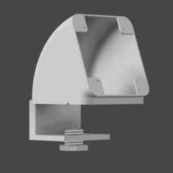 1.png Download STL file Desk socket with detachable base • Model to 3D print, irDario