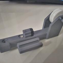 IMG_20200306_214320_0.jpg Télécharger fichier STL Supporto filamento con puleggia Geeetech A20 • Design imprimable en 3D, PM3D