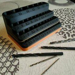 IMG_20210106_134143.jpg Télécharger fichier STL Stand forets de perçage - drilling stand • Modèle pour impression 3D, Gadgetizer