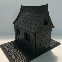 Download free STL file KIt medieval house toy wargame toy ... • 3D printing object, hicksadder