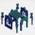 Télécharger fichier OBJ gratuit cloitre Gothique  en kit • Modèle à imprimer en 3D, hicksadder