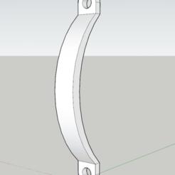 Descargar archivo 3D gratis Una simple manija de la puerta, Ari_Erd