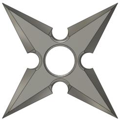 shk12.png Télécharger fichier STL gratuit Shuriken 1 • Plan imprimable en 3D, Ari_Erd