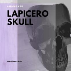 Descargar modelos 3D pen holder skull, ananda3d