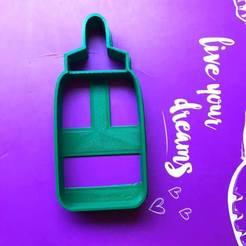 Descargar diseños 3D bottle cookie cutter, ananda3d