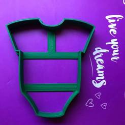 Impresiones 3D baby body cookie cutter, ananda3d