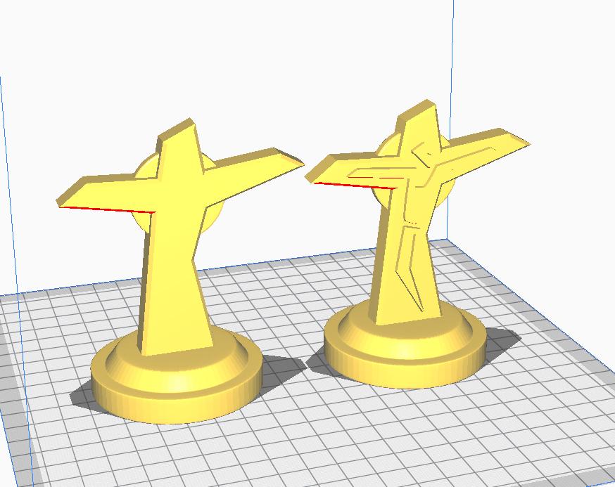 Cruz.jpg Download free STL file Cross • 3D printing model, santiagocgart