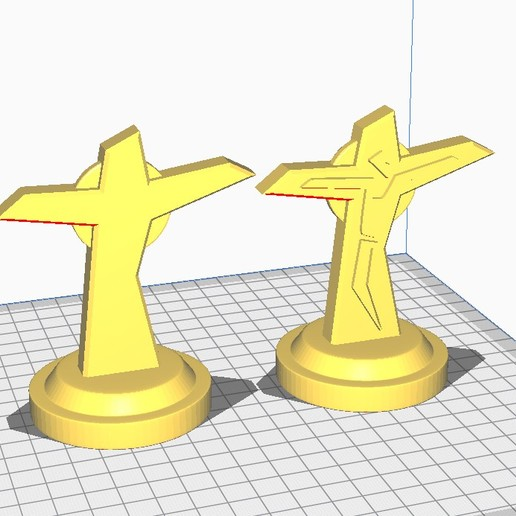 Télécharger fichier 3D gratuit Cross, santiagocgart