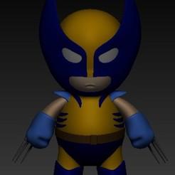 Descargar modelos 3D wolverine, babywolverine, logan, x-men, xmenbaby, santiagocgart