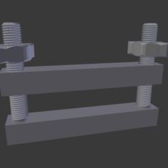 Impresiones 3D gratis Abrazadera simple, Flughoernchen