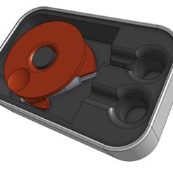 Descargar diseños 3D gratis Caja de auriculares de menta y estaño, ScubaScott