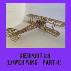 Nieuport part4.png Télécharger fichier STL Nieuport 28 Partie 4 • Plan pour imprimante 3D, FenixYeshua