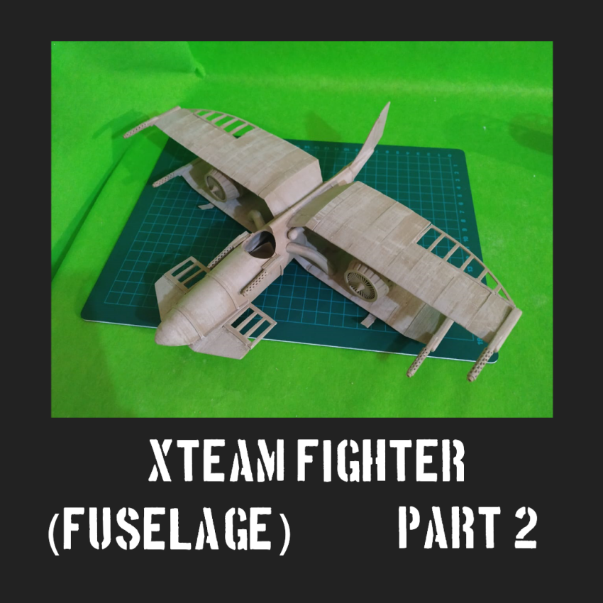 Xteampart2.png Download free STL file SteamPunk Biplane (part 2) • 3D print design, FenixYeshua