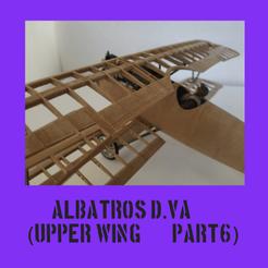 albatroscultspart6.png Télécharger fichier STL ALBATROS D.VA PARTIE 6 • Objet pour impression 3D, FenixYeshua