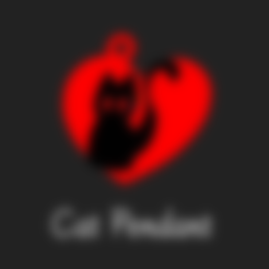 Download free 3D printer files Cat Pendant, FenixYeshua