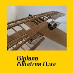 portada.png Download STL file ALBATROS D.VA • 3D printing object, FenixYeshua