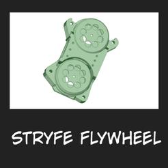flywheel.png Download free STL file Stryfe Flywheel Cage compatible with motors for DVD • 3D printer design, FenixYeshua