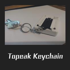 Download free STL file topeak keychain • 3D print model, FenixYeshua