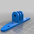 Télécharger fichier STL gratuit support d'écouteurs - PC sur pied, compatible avec gopro V2 • Design pour impression 3D, FenixYeshua