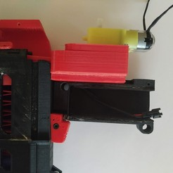 Download free 3D printer templates Nerf Automatic Dart Pusher Mechanism for MHR-B2 --- XR2, FenixYeshua