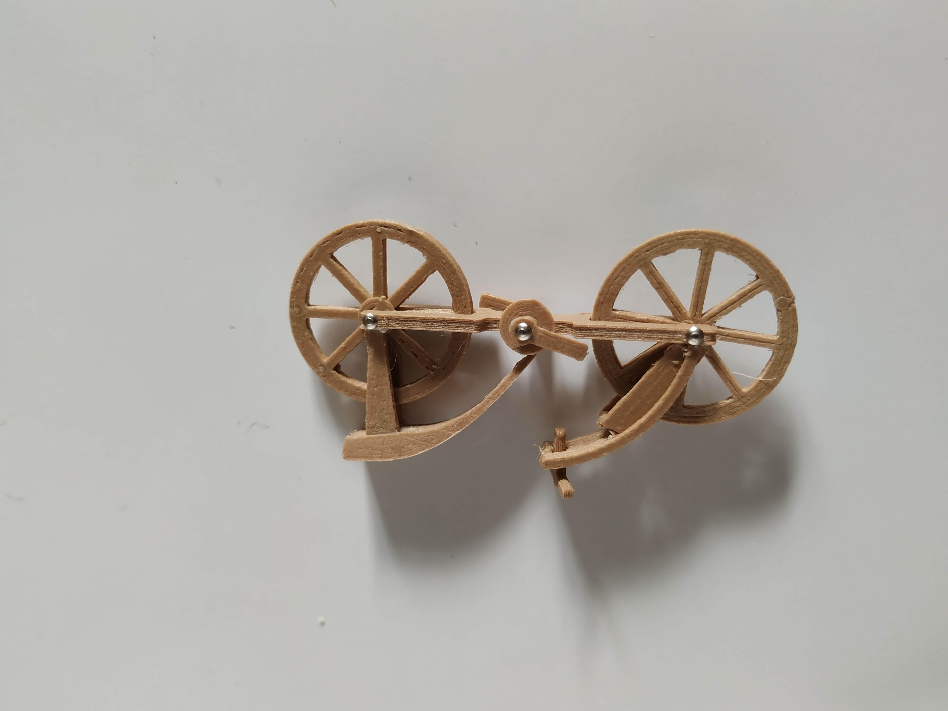 IMG_20190827_183453.jpg Télécharger fichier STL gratuit Vélo Davincis (carte de visite) FenixYeshua • Design pour impression 3D, FenixYeshua