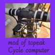 MOD OF TOPEAK CYCLE COMPUTER.png Télécharger fichier STL gratuit mod of topeak cycle computer mount for canyon road bike • Plan à imprimer en 3D, FenixYeshua