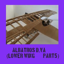 albatroscultspart5.png Télécharger fichier STL ALBATROS D.VA PARTIE 5 • Plan à imprimer en 3D, FenixYeshua