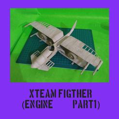 Download STL file SteamPunk Biplane (part1) • 3D printing template, FenixYeshua