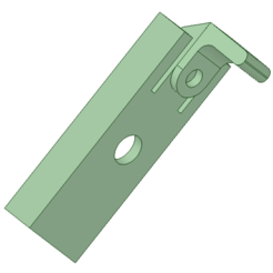 Download free STL file topeak rail mount for cycle computer and phones (printable without supports) • 3D printing design, FenixYeshua