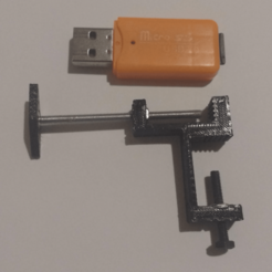 Télécharger plan imprimante 3D gatuit Un micro-vice ridiculement petit, FenixYeshua