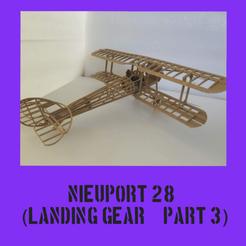 Nieuport part3.png Télécharger fichier STL Nieuport 28 Partie 3 • Plan pour impression 3D, FenixYeshua