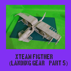 Xteampart5.png Download STL file SteamPunk Biplane (part 5) • 3D printable design, FenixYeshua