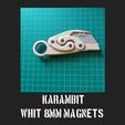 karambit.png Download free STL file karambit whit 8mm magnets • 3D printable design, FenixYeshua