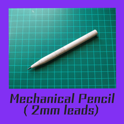 mechanical pencil.png Download STL file mechanical pencil 2mm V1.0 • 3D printing object, FenixYeshua