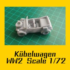 VW Kübelwagen.png Télécharger fichier STL Volkswagen Kübelwagen • Modèle pour impression 3D, FenixYeshua