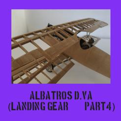 albatroscultspart4.png Télécharger fichier STL ALBATROS D.VA PARTIE 4 • Plan imprimable en 3D, FenixYeshua