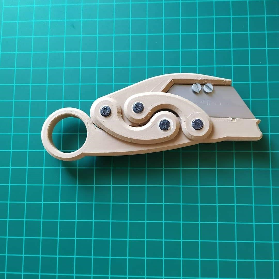 IMG_20200116_134946_299 (2).jpg Download free STL file karambit whit 8mm magnets • 3D printable design, FenixYeshua