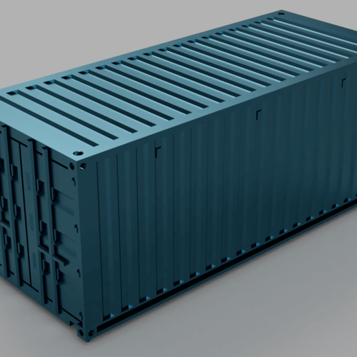 container_orig_2019-Jul-18_08-48-30AM-000_CustomizedView15403646711.png Download free STL file HO scale container 20ft (piko-compatible) • 3D print object, positron