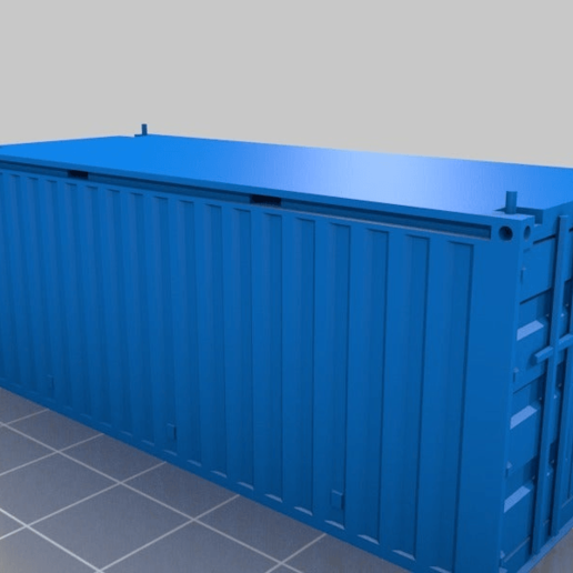3fd4fbf4023fab4eaa3a86707f1b1bd0.png Download free STL file HO scale container 20ft (piko-compatible) • 3D print object, positron