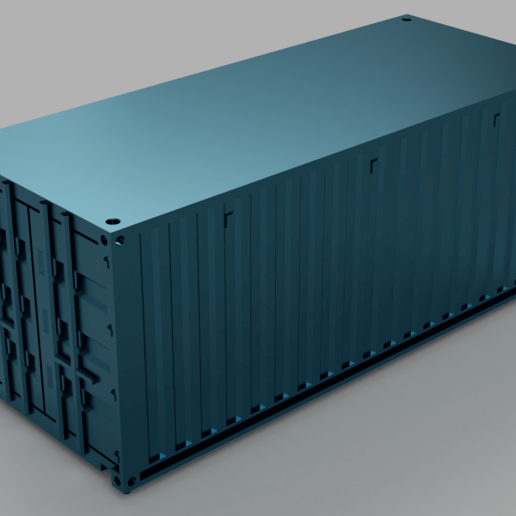 container_orig_2019-Jul-18_01-09-20PM-000_CustomizedView18906944005.png Download free STL file HO scale container 20ft (piko-compatible) • 3D print object, positron