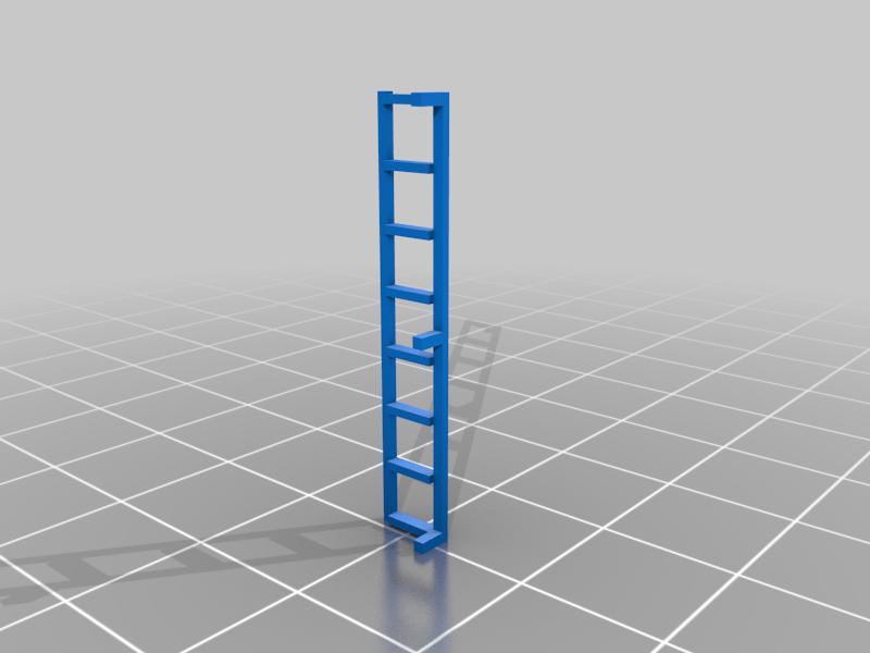 ladder_v.png Télécharger fichier STL gratuit Boxcar russe série 11-270, échelle HO • Design pour impression 3D, positron