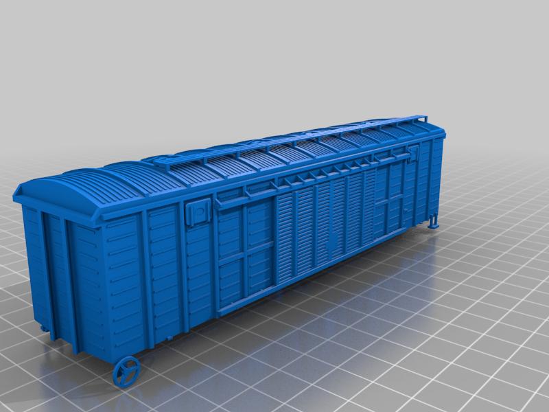 rail_wiper_v42.png Télécharger fichier STL gratuit Boxcar russe série 11-270, échelle HO • Design pour impression 3D, positron