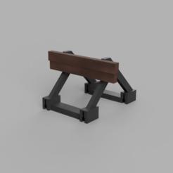 Télécharger fichier STL gratuit Arrêt du tampon de l'échelle HO • Plan imprimable en 3D, positron