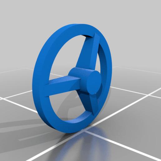 brake_wheel.png Télécharger fichier STL gratuit Boxcar russe série 11-270, échelle HO • Design pour impression 3D, positron