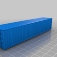 b10536c401944e73b8d63c2d663af5fe.png Download free STL file HO scale container 40ft (piko-compatible) • 3D printing object, positron