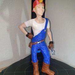 Imprimir en 3D gratis Nuevo personaje de Margo: Tom Baker, marioduranfernandez1969
